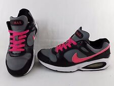 NIKE AIR MAX COLISEUM WOMENS TRAINERS SIZE UK 5 GREY BLACK PINK LEATHER