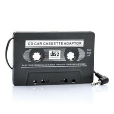 CASSETTE AUTO ADATTATORE JACK CUFFIE AUDIO 3.5mm MP3 CD DVD MP4 IPOD USB pi