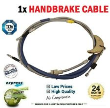 1x HANDBRAKE CABLE for RENAULT MEGANE I Classic 1.4 16V 1999-2003