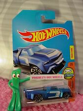 Chase SOLID MUSCLE✰Blue/Black;TRAP5✰Digital Circuit✰2017 i Hot Wheels Case N
