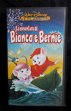 CS10> VHS WALT DISNEY - LE AVVENTURE DI BIANCA E BERNIE