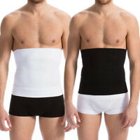 US Men Waist Trimmer Belt Comfortable Abdomen Supports Tummy Control Body Shaper