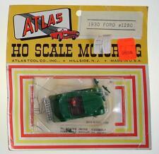 ATLAS 1280 MOC BRITISH RACING GREEN 1930 FORD TOURING HO SCALE MOTORING SLOT CAR