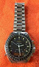 BREITLING vintage Pluton Navitimer 3100 80191  w. bracelet palladium steel