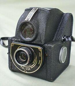 Vintage Ensign Ful-Vue Film Camera with Case