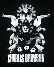 CHARLES BRONSON T-SHIRT Paul Kersey DEATH WISH revenge vigilante scumbag killer
