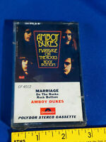 Amboy Dukes Marriage on the Rocks Bottom Cassette Tape Early Ampex Clamshell