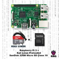 Raspberry Pi 3 With Kali Linux Pre Loaded on 32GB SanDisk Micro SD