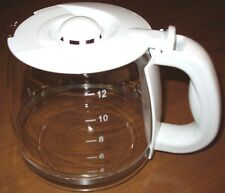 12 CUP REPLACEMENT COFFEE CARAFE NWOP WHITE