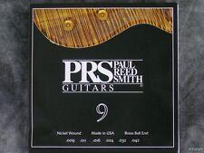 NEW PRS 9-42 GAUGE SET ELECTRIC GUITAR 6 STRINGS CUSTOM SE CE PAUL REED SMITH
