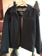 VINTAGE Mens Abercrombie & Fitch Jacket Blue Size L