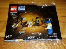 NEW! Lego Studios Pirates Treasure Hunt (1411) Skeletons/Pirates polybag