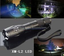 Military Grade Tactical Flashlight LED XM-L2 2500 LM 2000x X700 Style US Stock