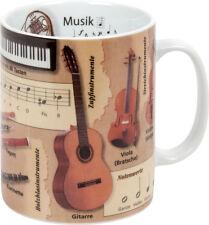 Vasos de conocimientos música Könitz vaso café Pott Coffee Mug tea Science Cup Music