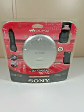 Sony Car Ready Portable Walkman CD Player w/ Car Kit (D-EJ368CK/CO) NOS Rare