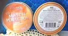 """1"" RIMMEL MATCH PERFECTION Blush  - 002 Light/Medium"