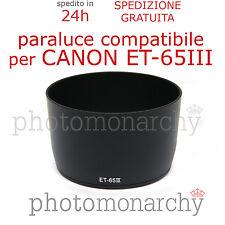 Paraluce ET-65III compatibile per Canon EF 85mm f/1.8 USM 85 1.8 ET 65 III
