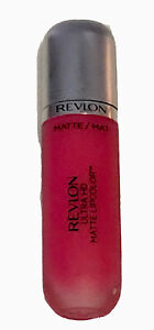 New! Revlon ULTRA HD MATTE Pink LipColor 615 Temptation