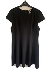 H&M Black Slip Dress Size Large New With Tags