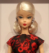 BARBIE SILKSTONE ELEGANT ROSE COCKTAIL DRESS NRFB  FJH77 TRES BELLE BARBIE