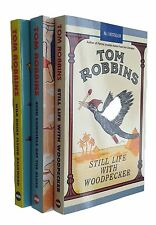 Tom Robbins Books 3 Books Fiction Collection Still Life with Woodpecker + 2 New