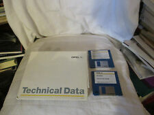 Data sheets, specifications, technical data-Opel models 03/1997 - Complete