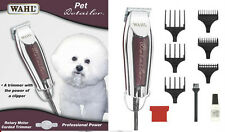 Wahl Pro Clipper Pet Dog Animal Detailer Trimmer Grooming Professional Chrome