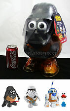 NEW Huge DARTH TATER 3-Character TRIO SET - Spud Trooper R2-D2 - Mr Potato Head