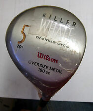 NOS * Blast from the Past * Unused Wilson 1995 Killer Whale 5W-20.0* RH-S steel
