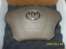 2007 2006 2005 Sequoia/Tundra base model OEM no audio Toyota Driver Airbag BEIGE
