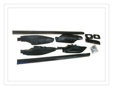 Black Roof Rack Side Rail for Toyota Prado FJ120 2003 2004 2005 2006 07 08 2009