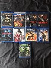 Marvel's Ghost Rider Dare Devil Electra Punisher Hulk Fantastic 4. 9 Blu Ray Lot