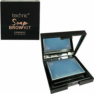 Technic Soap Brow Kit - Styling Shape Fixer Brush Gel Eyebrow 3D Makeup Feather