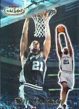 1999-00 Topps Gold Label Class 1 #1 Tim Duncan San Antonio Spurs Basketball Card
