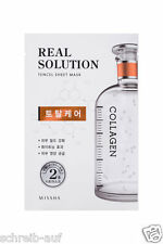 3x MISSHA Real Solution Tencel Sheet Mask (Total Care) COLLAGEN