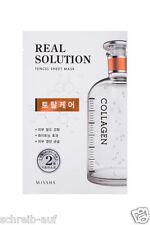 3x MISSHA Real Solution Tencel Sheet Mask (Total Care) COLLAGEN