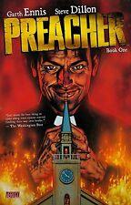 PREACHER BOOK ONE (1) TPB Garth Ennis, Steve Dillon Vertigo Comics #1-12 TP