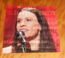 Alanis Morissette Mtv Unplugged Poster 2-Sided Flat 1999 Promo 12x12