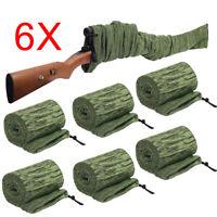 10pcs Gun Sock Black Green Gun Sleeves Rifle Shotgun Storage Cover Socks Case