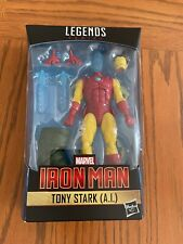 Marvel Legends Iron Man Tony Stark AI Action Figure NIB