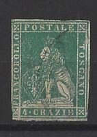 Italien - Toscana 1857, Mi.Nr. 14 gestempelt,
