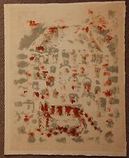 LOFFREDO Silvio - Lithographie litografia signée EA baptistère battistero 1959