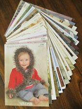 Job Lot of 20 A4 Knitting  Leaflets Hayfield, Sirdar, Patons King Cole etc