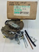 NOS CARTER CARBURETOR 3316S 1958-1963 FORD V8 1961-1962 MERCURY V8