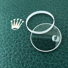 Sapphire Watch Crystal & High Gasket for Rolex Mens 36mm Datejust and President