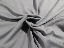 Gray WASHABLE Wool/Bamboo Soft Knit! Flowing and Easy-Care Comfort!