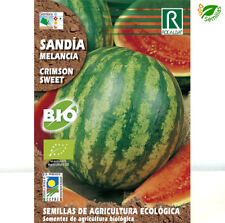 Sandía Crimson Sweet Ecológica ( 4 gr / 72 semillas apróx ) seeds Eco