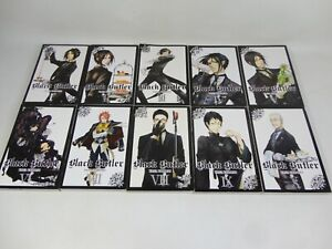 Black Butler Manga 1-10 Books Series Volume Yana Toboso Paperbacks Bundle RARE