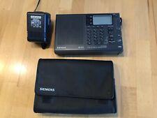 Weltempfänger Siemens RK 761, mit Tasche und org. Netzteil, alle Wellen!