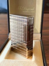 S.T. Dupont Lighter L1 Gold Prince of Wales, fully serviced in new condition
